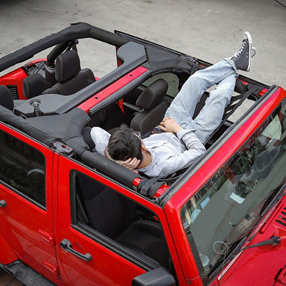 Design Hangmat Xxl.Beste Kopen Heavy Duty Cargo Netwerk Auto Hangmat Soft Top Cover Dak
