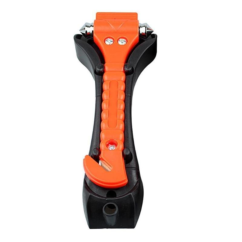 Mini 2 In 1 Car Safety Hammer Life Saving Escape Emergency Hammer Seat Belt Cutter Window Glass Breaker Car Rescue Tools