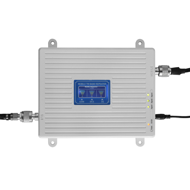 54cf81f318fc13 Universal Signal Booster Tri Band Amplifier Kit Network Booster 900 1800  2100 GSM DCS WCDMA 2G/3G/4G LTE Intelligent Repeater