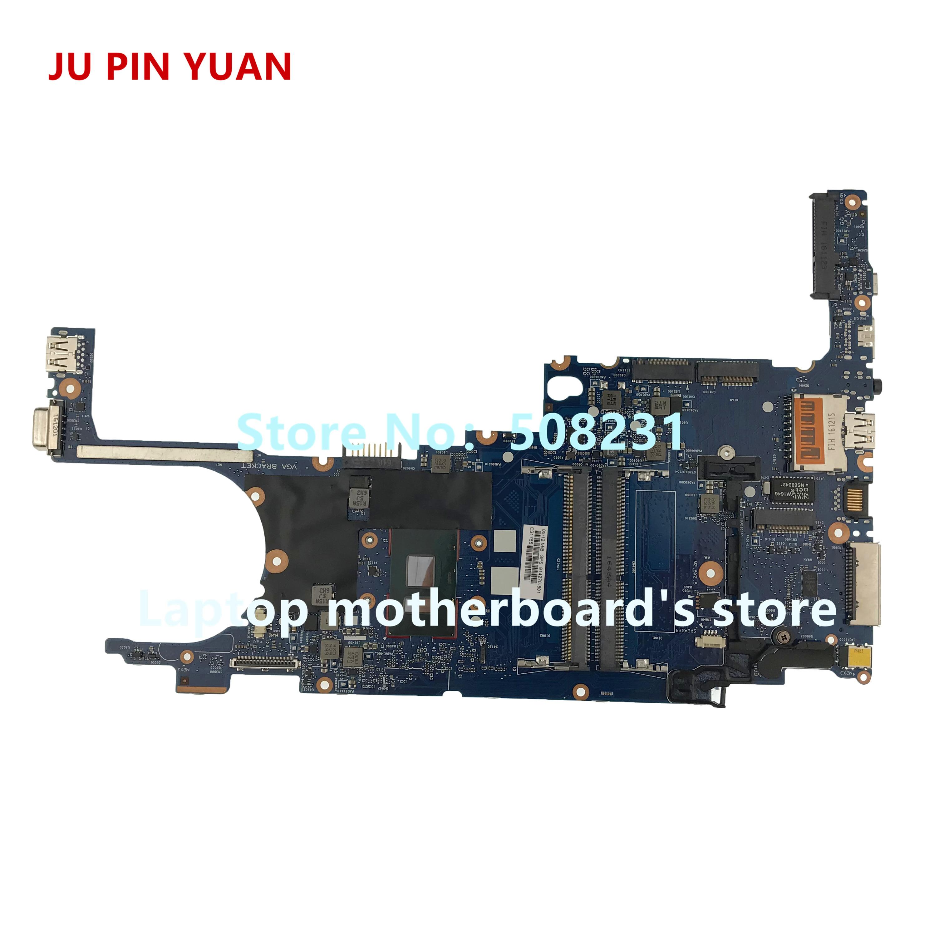 Laptop Motherboard Ju Pin Yuan 914270-601 914270-001 Laptop Motherboard Für Hp Elitebook 820 G4 Notebook Pc I3-7100u Voll Getestet