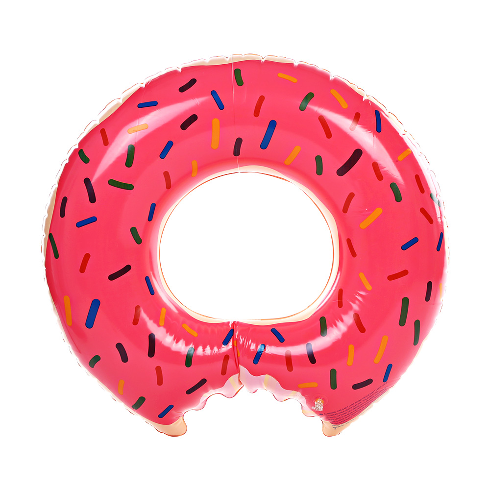 85CM Large Donut Swimming Ring Water Floating Inflatable Raft