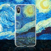 KISSCASE Van Gogh Paint Emboss Cover for Huawei P Smart Plus Mate 20 10 P20 P10 Lite Pro Soft Case for Honor 9 Lite 10 8x 7a 7c(China)