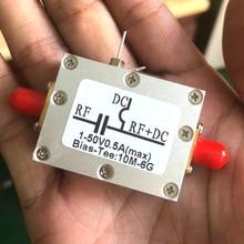 Té Biaser RF 10MHz 6GHz alimentation coaxiale bloqueur cc + étui pour radio jambon RTL SDR LNA amplificateur à faible bruit lecteur Laser BiasTee