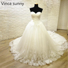 Vestido De Noiva New Arrival Bridal Wedding Dress Lace Gowns Robe Mariage
