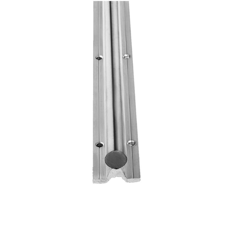 Великобритания ДОСТАВКА 2 шт. SBR10 SBR12 SBR16 SBR20 SBR25 10 мм 12 мм 16 мм 20 мм 25 мм линейный рельс Любая длина поддержка круглая направляющая для ЧПУ