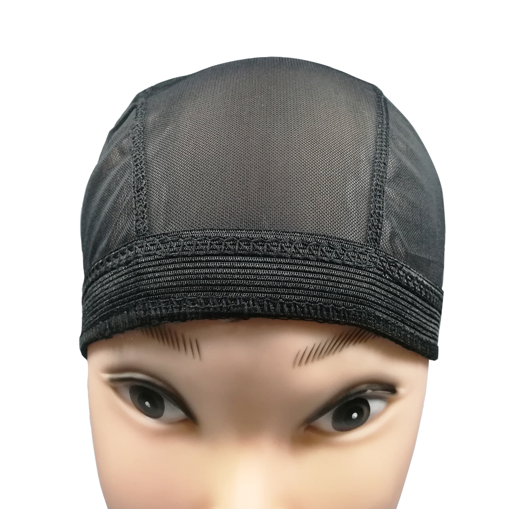 Spandex Mesh Dome Wig Cap Easier Sew In Hair Stretchable Weaving Cap Glueless Hair Net Wig Liner Cheap Wig Caps For Making Wigs 5
