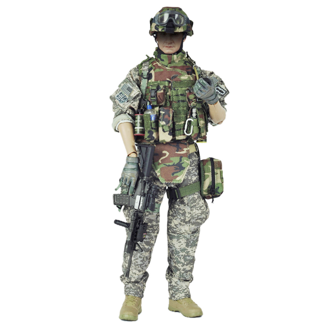 VeryHot Soldier Model Suit US Army EOD Uniform Equipment For 1 6 12 Inch Soldier Model