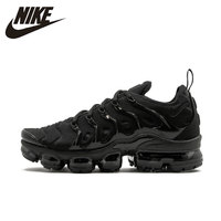 Nike Original Air Vapor Max Plus Men's Comfortable Running Shoes Breathable Lightweight Outdoor Sneakers #924453 004