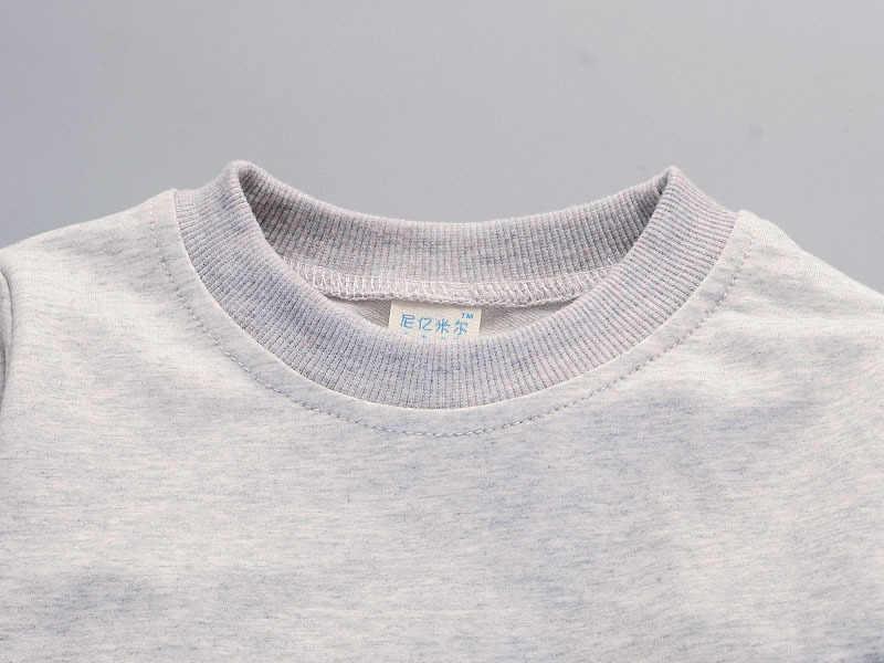 Musim Semi Musim Gugur Anak Laki-laki Pakaian Set Anak Olahraga Setelan Balita Pakaian Latihan Yg Hangat Girls Tshirt Celana Bayi Sweatshirt Kartun Kasual Pakaian