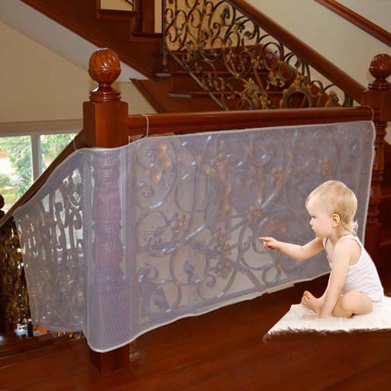 Baby Guard Fence Outdoor Balcony Stairway Deck Railing Safety Net Banister Stair Net Child Safety Pet Safety Toy Safety Stairs