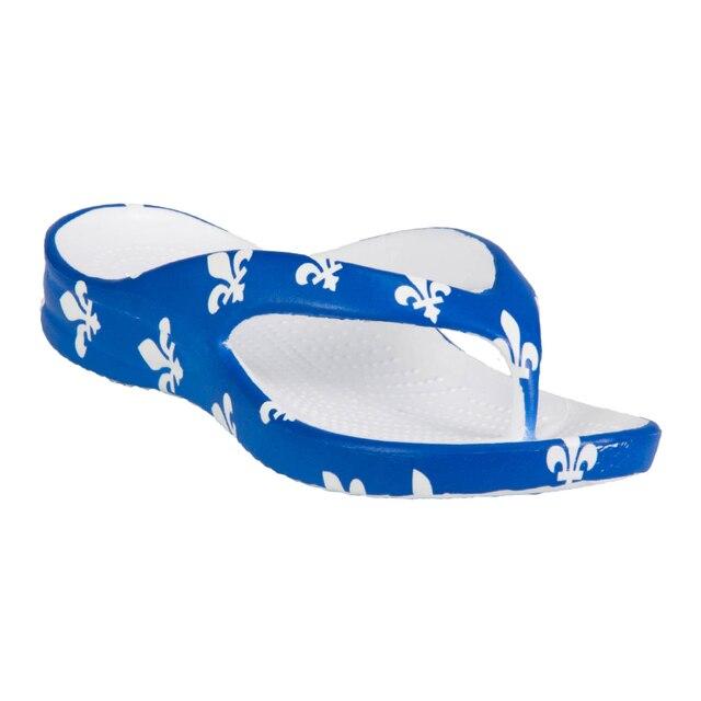 Kids' DAWGS Flip Flops - Fleur de Lis