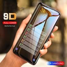 9D закаленное Стекло полное покрытие для samsung Galaxy A10 A20 A30 A40 A50 A60 A70 A80 A90 M30S Экран протектор A9 A6 A7 A8 пленка