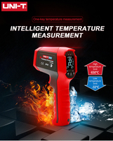 UNI T UT309D Non contact Infrared Thermometer Professional Thermometer EBTN Display IP65 Dustproof and Waterproof Thermometer