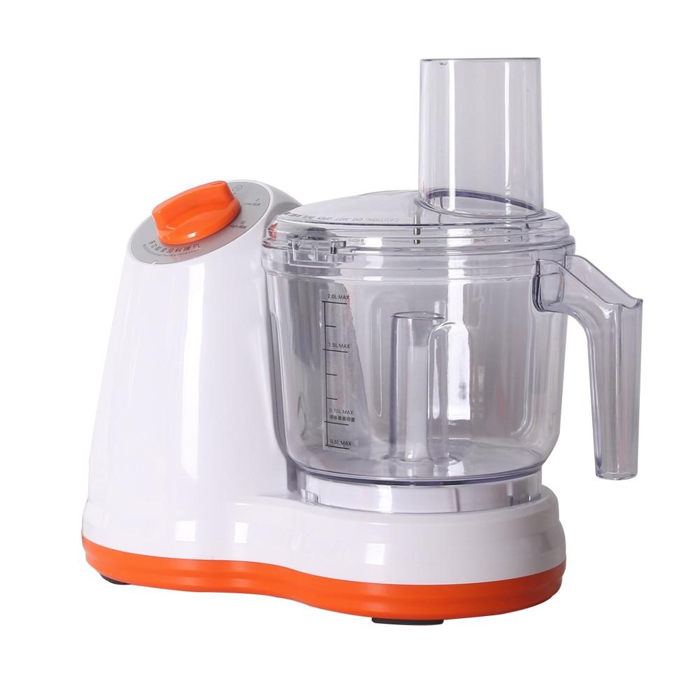 ITOP Multifunction Vegetable Cutters Food Processors Potato Slicer Garlic Peeler Meat Grinder Chopper 220V