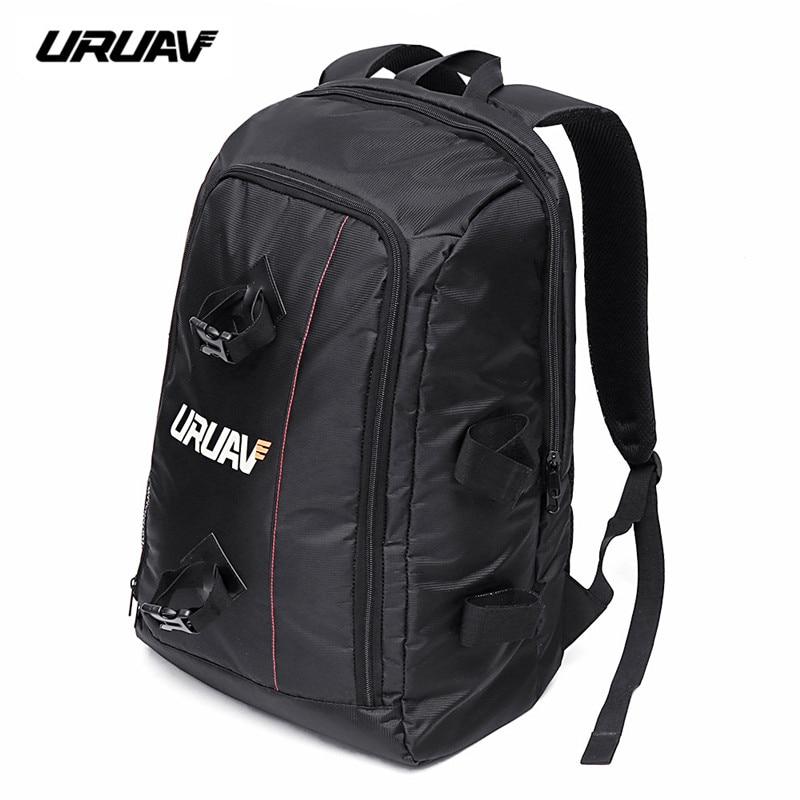 URUAV UR7 Backpack 40x55x22mm Handbag with Waterproof Transmitter Beam Port Bag DIY Room for RC Drone