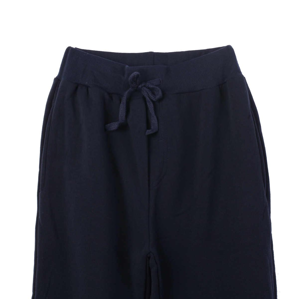 Thefound Joggers 2018 ยี่ห้อกางเกงกางเกง Sweatpants Jogger สีดำสบายๆผ้าฝ้ายยืดกางเกงออกกำลังกาย