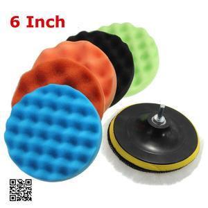 Image 4 - 7x 3567Buffing Sponge Polishing Pad Hand Tool Kit For Car Polisher Compound Polishing