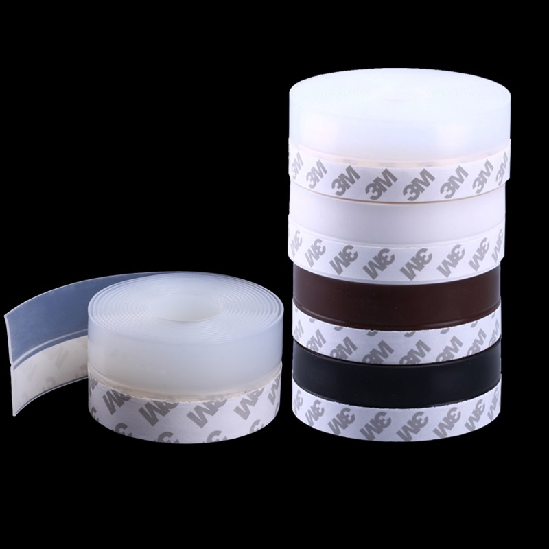 2Meters/Lot 35MM Self Adhesive 3M Glue Door Window Draught Dust Insect Seal Strip Soundproofing Weatherstrip