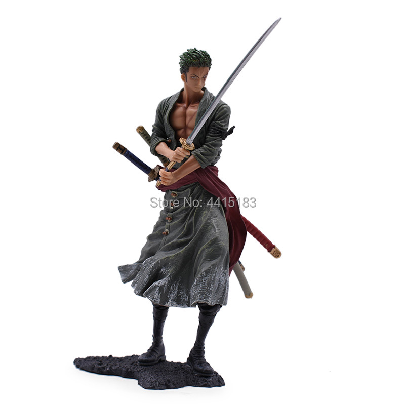 2 Styles Anime One Piece Roronoa Zoro PVC Action Figure Doll Collectible Model Baby Toy Christmas Gift For Children 8 quot 20 cm in Action amp Toy Figures from Toys amp Hobbies