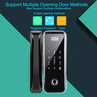 OULET Wood Doors Glass Door Lock Keyless With Touch Keypad For Office and Homes Smart Electronic Door Lock Electric