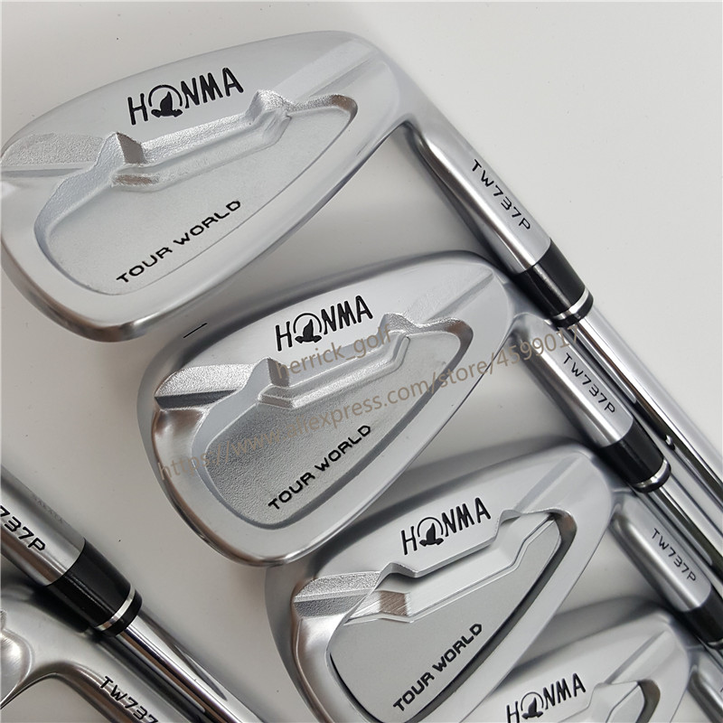 Image 3 - touredge Golf Clubs 737p golf iron HONMA Tour World TW737p iron group 4 10 w (9 PCS)  No 3#  silver Cover-in Golf Clubs from Sports & Entertainment