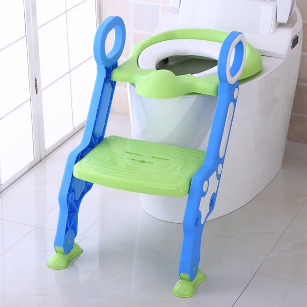 Fantastic Baby Toilet Seat Baby Folding Adjustable Ladder Potty Spiritservingveterans Wood Chair Design Ideas Spiritservingveteransorg