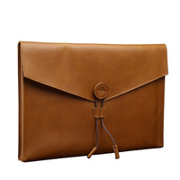 New Pattern Genuine Leather Business Briefcase Men Handbag Clutch Bag Large Capacity A4 Document Bags Ipad Package Laptop Bag