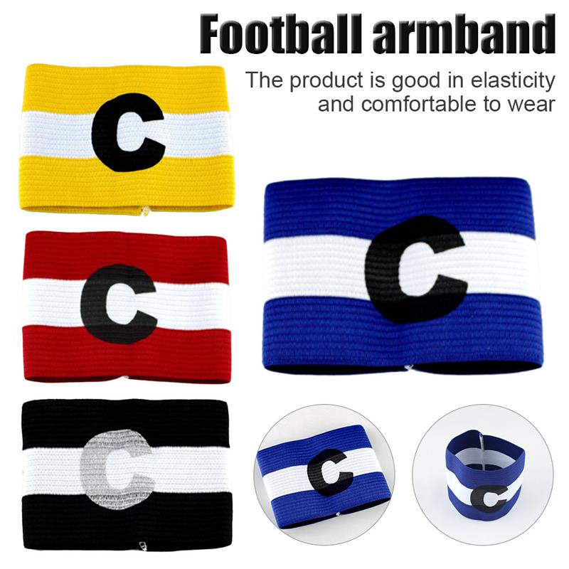 Football Soccer Player Sport Flexible Sports Adjustable Bands Captain Armband Top Quality Colored Armband Team Armband Bracelet