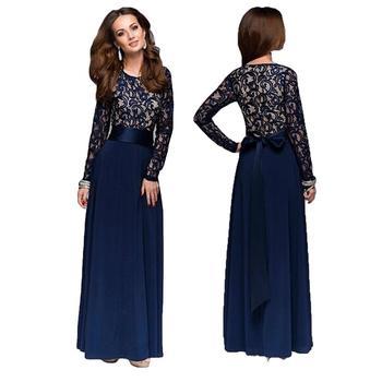 116fb9626e436bd Product Offer. Мусульманские женские арабские кружева лоскутное длинное платье  А-силуэт ...
