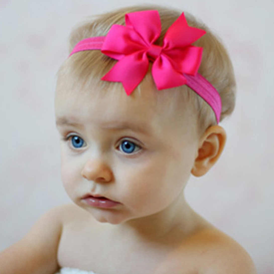 Headwrap เด็ก headbands headwear หญิง bow knot hairband head band ทารกแรกเกิดเด็กวัยหัดเดินของขวัญ tiara อุปกรณ์เสริมผม