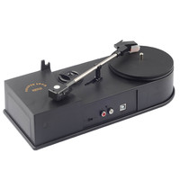 Portable Mini Usb 2.0 Turntable Lp Record Audio Player Mp3 Cd Players Convertor Stereo