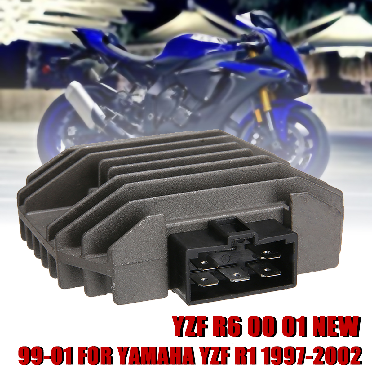Fine Us 12 04 30 Off Motorcycle Parts 1Pc Professional Replacement Regulator Voltage Rectifier For Yamaha Yzf R1 1999 2001 Yzf R6 1997 2002 In Motorbike Gmtry Best Dining Table And Chair Ideas Images Gmtryco