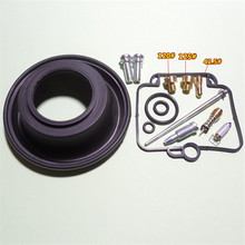 For DR350 Goose350 Single Cylinder Engine Mikuni BST40 Carburetor Repair kit Configure Vacuum Diaphragm