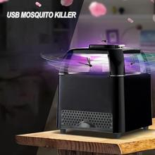 Photocatalyst USB Electric Mosquito Killer Lamp Silent Anti Fly Trap Night Light Insect Killer Lights Bug Zapper Pest Repeller