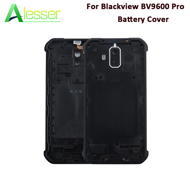US $9 26 6% OFF|Alesser For Blackview BV9600 Pro Battery Cover Protective  Case Replacement For Blackview BV9600 Pro Phone Bateria Cover 6 21''-in