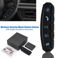 12 24 Volt Universal LED backlight Wireless Remote Control Car Steering Wheel 10 Button Remote Control Car