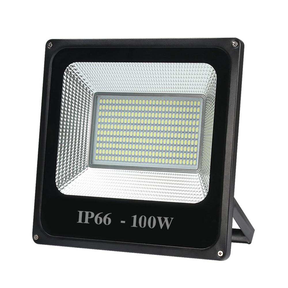 LED Floodlight 100W 50W 30W Ultra Thin Led Flood Light Spotlight Outdoor 220V IP66 Waterproof Outdoor Wall Lamp Flood Light