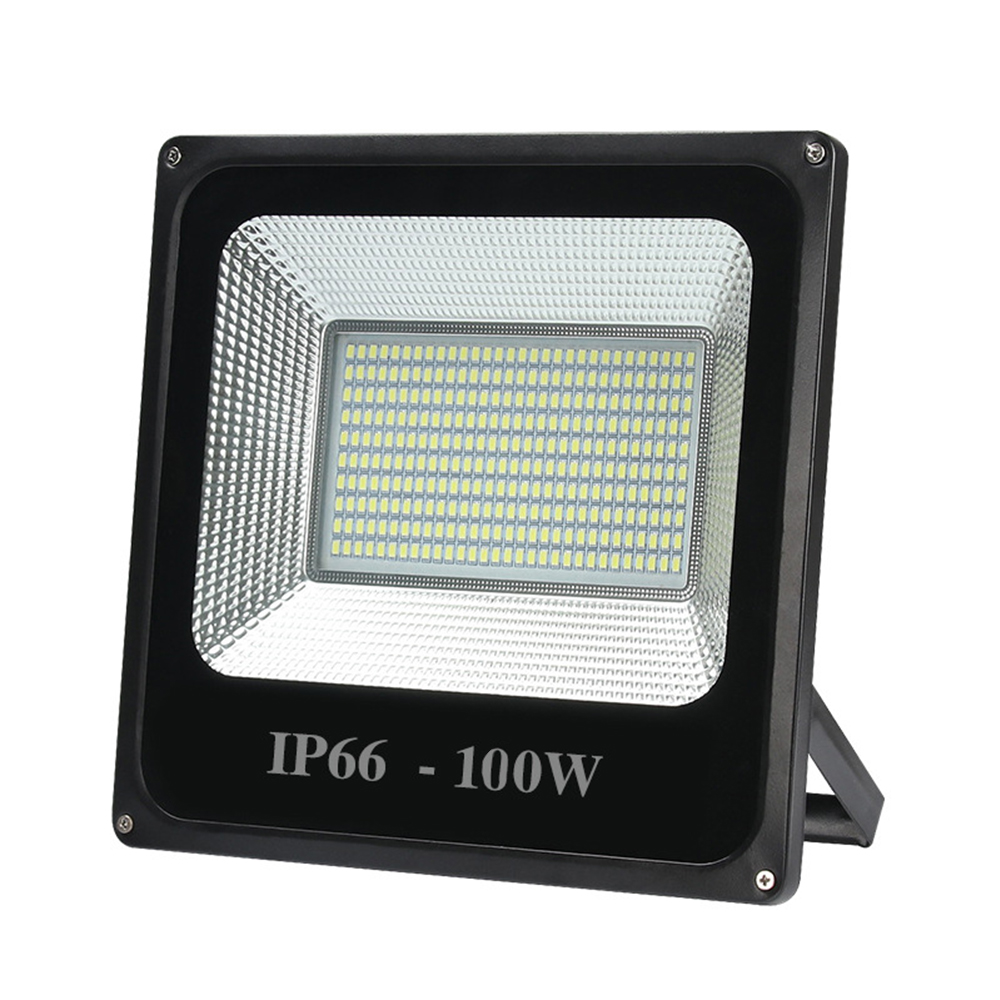LED Floodlight 100W 50W 30W Ultra Thin Led Flood Light Spotlight Outdoor 220V IP66 Waterproof Outdoor Wall Lamp Flood Light