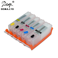 BOMA.LTD PGI 480 CLI 481 PGI 480 CLI 481 PGI480 481 Refill Ink Cartridge For Canon PIXMA TR7540 TR8540 TS8140 TS6140 TS9140
