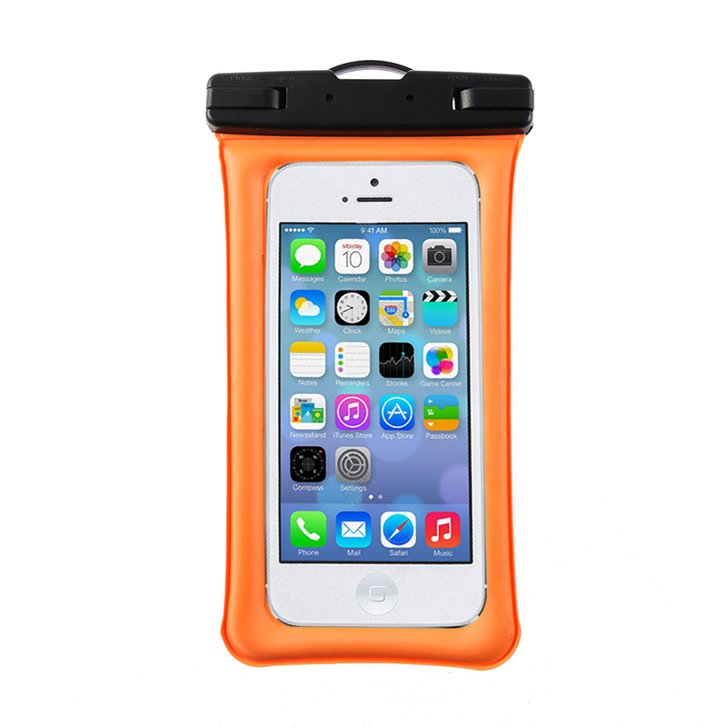 2019 New Air Bag Mobile Phone Waterproof Bag For Iphone 6plus 7 8p All Models 6.1 Inch Phone Case Floating With Lanyard