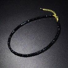 JCYMONG Бусы камень короткое ожерелье для женщин горячий дизайн черное красочное модное женское колье-чокер Bijoux Femme для девушек