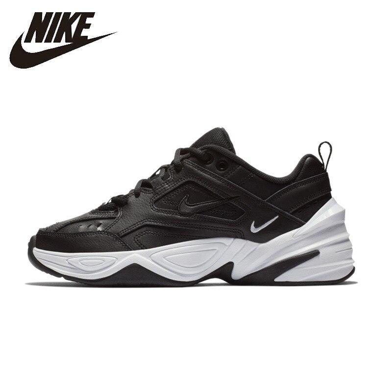 Nike chaussures de course pour femme M2K TEKNO Mode Loisirs chaussures de papa Respirant Clunck Sneaker AO3108