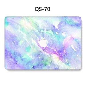 Image 3 - Funda para portátil MacBook Air Pro Retina 11 12 13 15,4 pulgadas con teclado Protector de pantalla cubierta