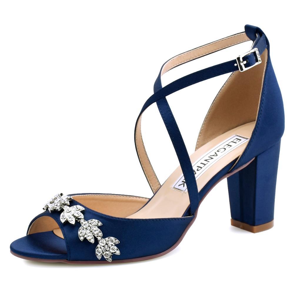 Woman Sandals Summer High Heel Crystal Bridal Wedding