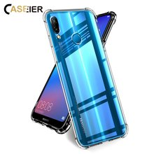 CASEIER Soft TPU Phone Case For Huawei P20 Lite P10 P8 Lite Protective Cases For Honor 8 9 Lite 10 Luxury Phone Fundas Covers(China)