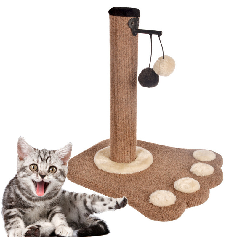 Tableau à gratter pour animaux de compagnie petit chat chien cadre d'escalade jouet chat à gratter Post chat tableau à gratter animal de compagnie sautant interactif jouet d'entraînement #3