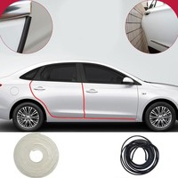 ESPEEDER Universal 10M Car Door Edge Sealing Guard Trim Scratch Protector Strip Car Door Stickers Decoration Car Styling