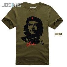 Khoác Nam Cottont Áo Sơ Mi Thời Trang Che Guevara Nữ Tay Ngắn Nam Cao Cấp Thoáng Khí Mùa Hè In Hình Camisetas A835