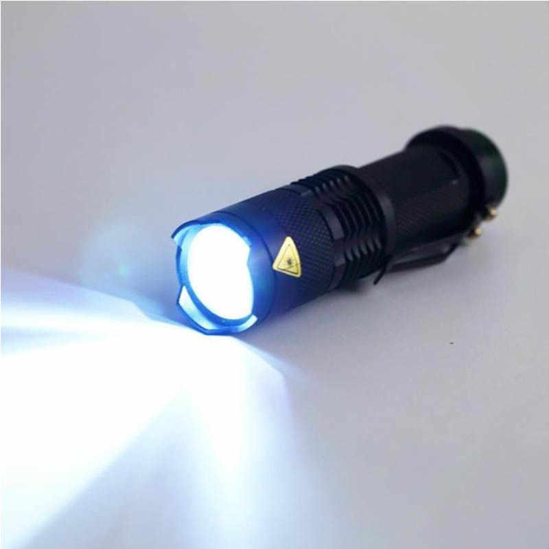 Linterna LED recargable Pocketman XML T6 linterna de 4000 lúmenes 18650 batería de Camping al aire libre potente linterna Led