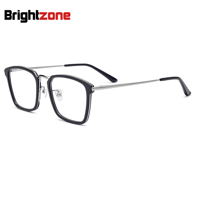df6ab34183d1 Detail Feedback Questions about Amazon Wish LAZADA Ebay Best Premium  Collection Full High Quality Acetate Metal Square Number Glasses Frame  Optical Men ...